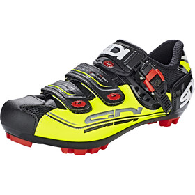 Sidi MTB Eagle 7-SR Schoenen Heren, black/yellow